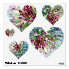 The Heart of Winter a Purple-Blue Fractal Dahlia Wall Decal | Wall decals and Dahlia  sc 1 st  Pinterest & The Heart of Winter a Purple-Blue Fractal Dahlia Wall Decal | Wall ...