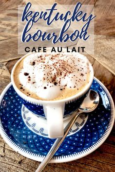 This Kentucky Bourbon Coffee with CBD Oils - cafe au lait recipe - is a delicious twist on your traditional coffee! #cbd #cbdoils #cbdoil #cbdrecipes #recipeswithcbd