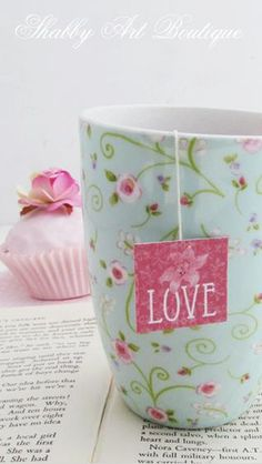 Saquinho de chá personalizado...