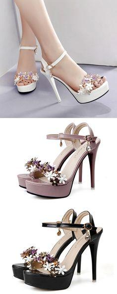 Platform Stiletto He Hot High Heels, Womens High Heels, Black Heels, Platform Stilettos, Stiletto Shoes, Shoes Heels, Giuseppe Zanotti Heels, Top To Toe, Ankle Strap Heels