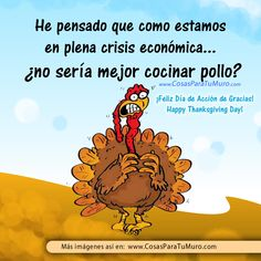 Pollo para Thanksgiving