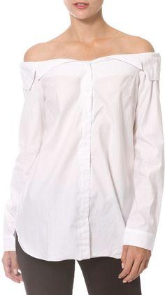 Madonna & Co Off Shoulder Shirt