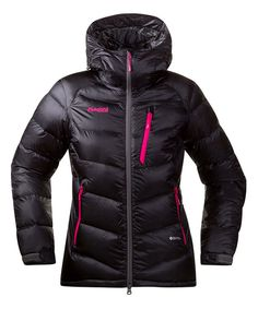 Look at this Black & Hot Pink Memurutid Down Jacket - Women on #zulily today!