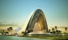 This amazing winning competition entry for new church building in Lagos, Nigeria made us think. Where did church architecture go? DOS Architects mixed newest architectural design with oldest objects and got outstanding result.