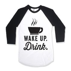 Wake Up Drink by AwesomeBestFriendsTs on Etsy