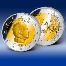 "2 Euro-Gedenkmünze Monaco ""Fürst Albert II."""