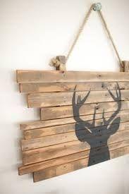 Deer Buck Pallet Wood Art Pallet Sign Decor Buck Hunting ile ilgili görsel sonucu
