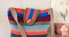 Paso a paso para tejer bolso otoño de crochet