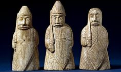 Lewis chessmen … the berserkers were  notorious for their trance-like fury. Photograph: The Trustees of the British Museum