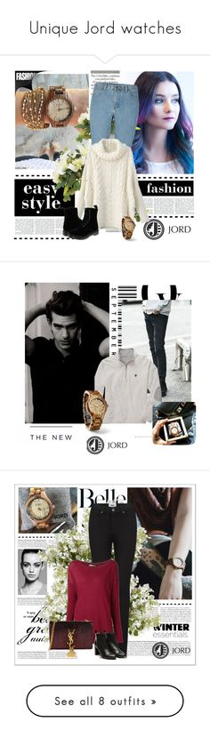 """Unique Jord watches"" by lugavicjasmina ❤ liked on Polyvore featuring lugavicamina, lovejordwatches, Envi:, American Eagle Outfitters, New Growth Designs, Allstate Floral, Assouline Publishing and Chanel"
