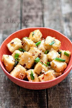 Sesame Tofu Recipe with Hot & Sweet Sauce - Step by Step. Finally, the secret to frying tofu without killing yourself with splashing oil is letting it sit in paper towels for one hour and coat it with some flour!