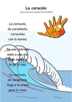 La caracola Bilingual Classroom, Bilingual Education, Spanish Classroom, Fun Learning, Learning Activities, Activities For Kids, Study Spanish, Spanish Lessons, Elementary Spanish