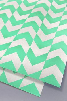 Chevron Geometic Wrapping Paper | The KID Who