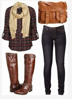 Plaid Outfit Ideas for 2014