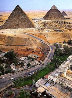 Egypt #Pyramids...in their actual environment!