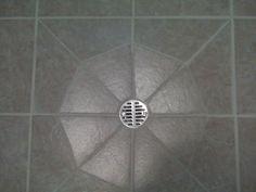 Tile around a floor drain Tile Around A Floor Drain - Ceramic & Stone Tile - Contractor Talk Laundry Room Tile, Basement Laundry, Room Tiles, Basement Bathroom, Drain Tile, Bathroom Drain, Sink Drain, Basement Floor Plans, Basement Flooring