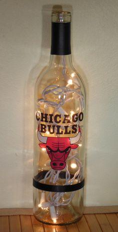 1000 Images About Ultimate Man Cave Basement On Pinterest Chicago Bulls Wine Bottle Lamps