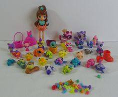 Hasbro Littlest Pet Shop Blythe & Pets Lot of 30 Figures Plus Accessories #Hasbro