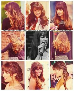 Lea and her different hair style's