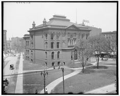 Take a look at the magnificent Detroit Public Library, today's #ThrowbackThursday feature.