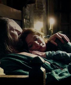 Ned and Catelyn Stark - Game of Thrones
