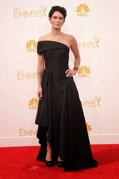 Lena Headey Emmy award 2014: best dressed