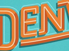 A sample piece of some type for the Denver summer campaign.  Family focused summer adventure stuff.