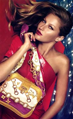 Gisele for Louis Vuitton Spring 2006