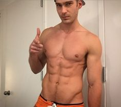 Does Kevin King Have The Best Abs On Any Swimsuit Model In Miami?