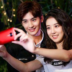 Ye muxi and Liao danyi Asian Actors, Korean Actors, Hot Actors, Actors & Actresses, Tori Tori, Yang Yang Actor, Song Wei Long, Chines Drama, The Big Boss