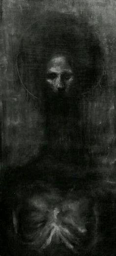 Creepy monster in darkness Arte Horror, Horror Art, Painting Inspiration, Art Inspo, Art Zombie, Macabre Art, Creepy Art, Dark Fantasy Art, Gothic Art