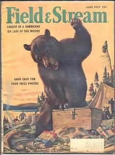 Field & Stream Magazine Back Issues Hunting Magazines, Fishing Magazines, Old Magazines, Vintage Tin Signs, Vintage Ads, Hunting Art, Deer Hunting, Magazine Art, Magazine Covers
