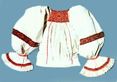 Lapus Bell Sleeves, Bell Sleeve Top, Folk Clothing, Folk Embroidery, Peasant Blouse, Textiles, Costume, Knitting, Clothes