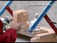 Дупликарвер - скульптурная резьба