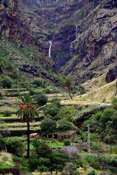Barranco de Agaete en Agaete, Canarias