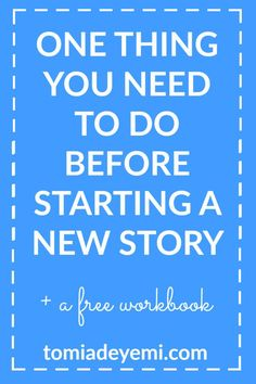 #Writing a new story? Make sure you do this one thing first to avoid wasting your time or spending days, months, or years revising a mistake you could have fixed at the beginning!