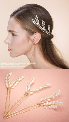 elegant pearl wedding accessories bridal headpieces for bridesmaid gifts