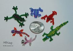 Animal Designs - Free Bead Patterns in a Variety of Beadwork Stitches