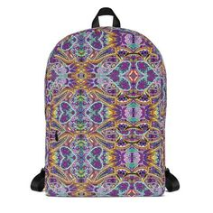213153b3f97f ALL OVER DONUT BACKPACK TURQUOISE – Odd Future