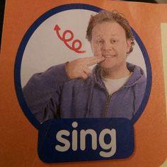 Sing - Makagon / Sign / Mr Tumble / Something Special Sign Language For Kids, British Sign Language, Speech And Language, Makaton Printables, Makaton Signs British, Libra, Mr Tumble, Eyfs Classroom