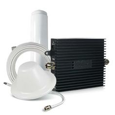 Signal booster system for larger home and offices. Tri-Flex 3G/4G Tri-Band System Kit For AT&T – 900601