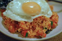 Korean food..i wanna try the kimchi fried rice