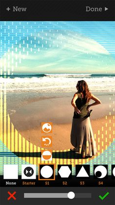 angent - Add Geometric Shape, Pattern, Texture, and Frame Overlays and Effects to Your Photos