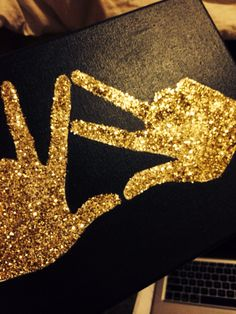 TLAM Kappa Alpha Theta Canvas, Gold Glitter, DIY, KAO Hands, Sorority Crafts