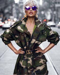 "Gefällt 836 Mal, 15 Kommentare - Laneysclosetdc (@lanerbird) auf Instagram: ""It's all in the details #camoflauge 👌#guccibelt #sexy #fashionblogger #stylist #ootd #itgirl…"""