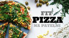 NAJLEPSZA PIZZA WEGAŃSKA - Z PATELNI! FIT PIZZA   Healthy Omnomnom