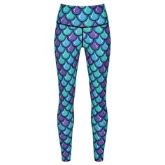 Live Your Dream Of Becoming A Mermaid With Tikiboo's Mermaid Scales Leggings . Compression Vest, Mens Measurements, Mermaid Leggings, Mermaid Scales, Small Waist, Skin Tight, Workout Tops, Bra Sizes, Things That Bounce