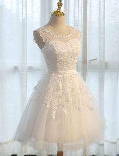 Homecoming Short Lace Applique Tulle Prom Party Dress - Power Day Sale#promdresses #Promoutfits #Promvibes #Bridesmaiddresses #Promgirl #prom2020 #easteroffer #easter #happyeaster #Jewelry Prom Outfits, Prom Party Dresses, Evening Dresses, Bridesmaid Dresses, Wedding Dresses, Cheap Formal Dresses, Prom Girl, Black Cocktail Dress, Lace Applique