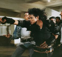 "Michael Jackson in ""Bad"" 1987"