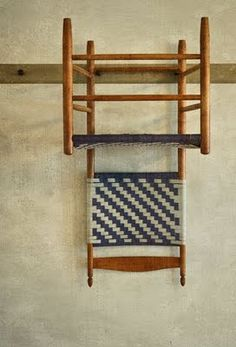 Shaker chair, Enfield Shaker Settlement, Enfield, New Hampshire ~ photographer Dan Routh